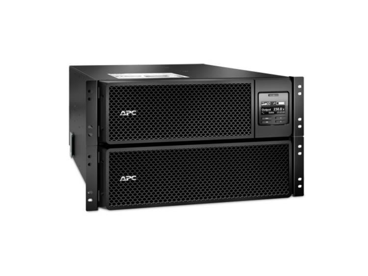 APC Smart-UPS On-Line 10KVA noodstroomvoeding 6x C13, 4x C19, hardwire 1 fase uitgang, rackmountable, Embedded NMC