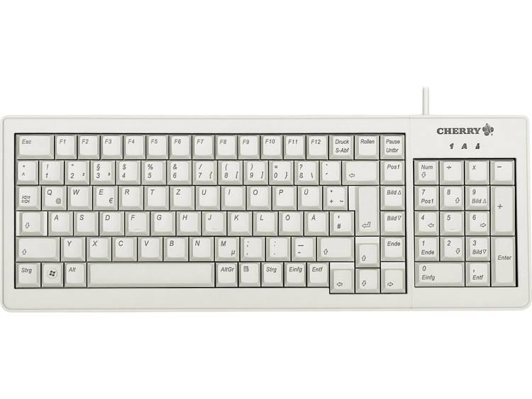 CHERRY G84-5200 USB toetsenbord QWERTY, Engels Grijs