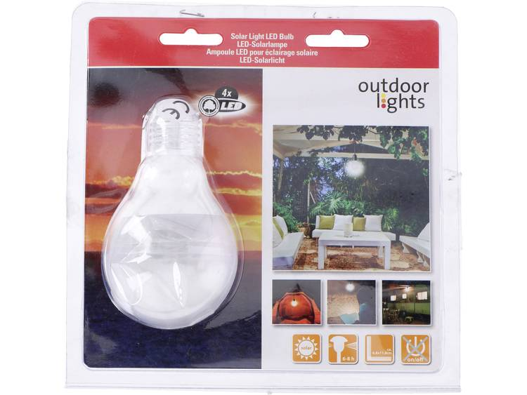 Solar decolamp Outdoor Lights Wit
