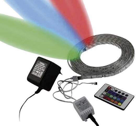 LED-strip complete set RGB met stekker 12 V 500 cm Allnet 78112