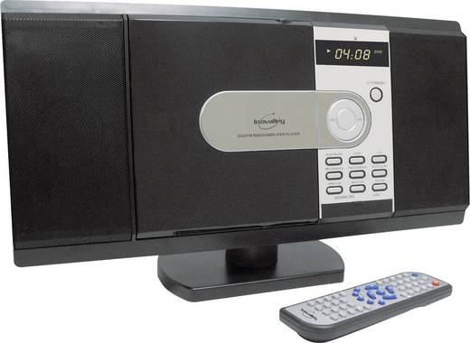 Mini stereo-installatie DVD USB/SD 2x20 W