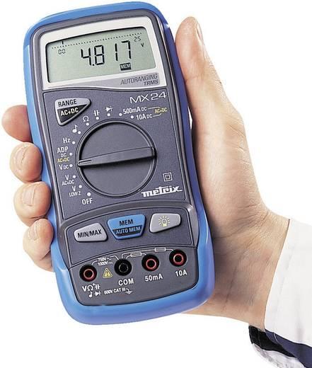Metrix MX-24B Multimeter Digitaal Kalibratie: Zonder certificaat CAT III 600 V Weergave (counts): 5000