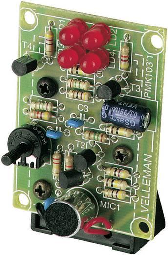 Velleman MK103 LED-lichtorgel Uitvoering (bouwpakket/module): Bouwpakket 9 V/DC