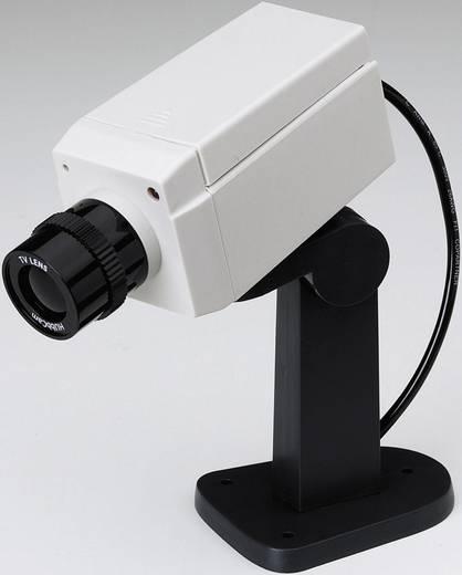 Dummy-camera met bewegingsmelder, met motor, met knipperende LED Velleman CAMD3