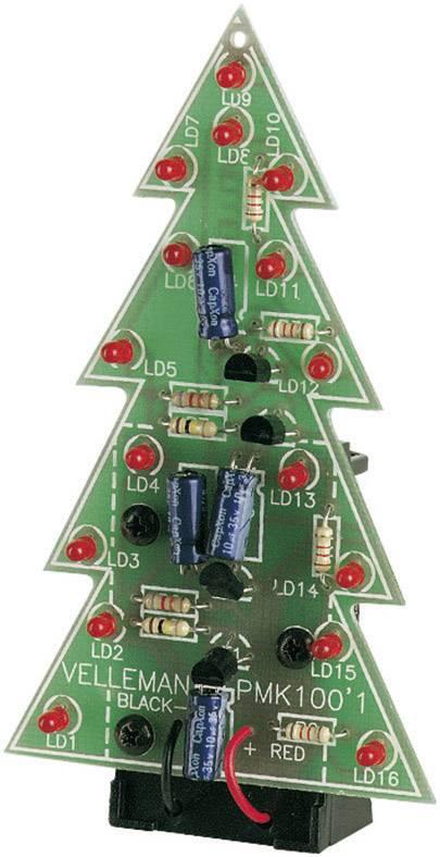Velleman Mk100 Led Kerstboom Bouwpakket 9 V Dc Conrad Nl
