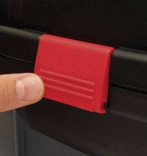Zwart Tekno koffer (l x b x h) 326 x 222 x 77 mm Viso TEK2007