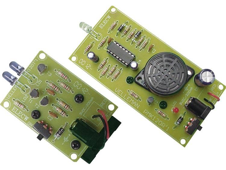 Velleman Foto-elektrische IR-beveiliging MK120 Bouwpakket 9 V-DC