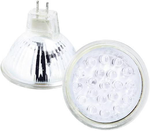 LED-lamp GU5.3 Stift 1 W Wit Energielabel: C 1 stuks