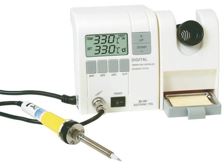 ZD 937 Digitaal Soldeerstation 50 W +150 tot +450 °C