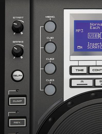 Tabletop CD-speler Kool Sound MPX-300