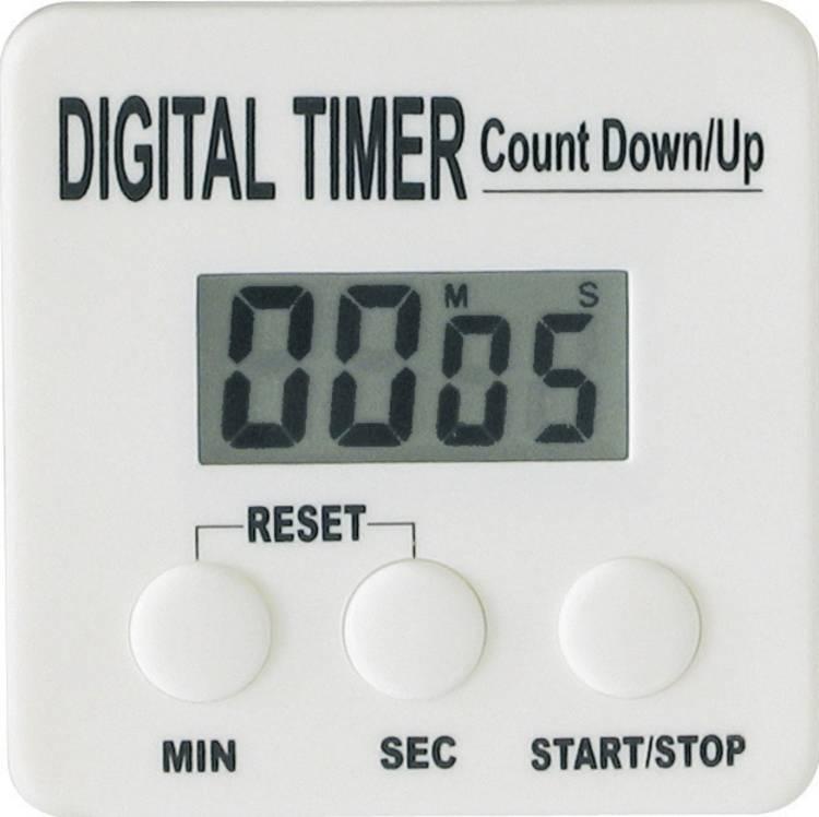 Kookwekker (countup countdown) Wit