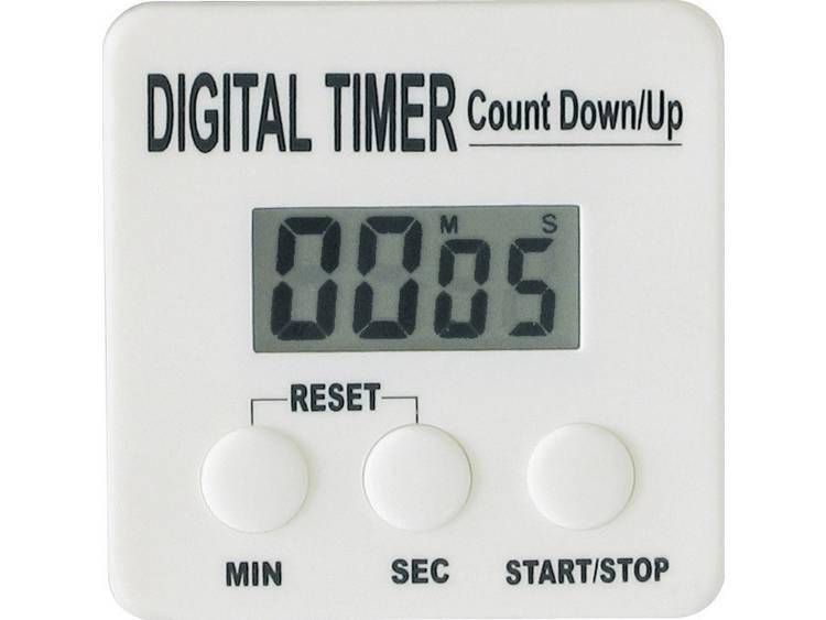 Kookwekker (countup/countdown) Wit