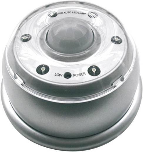 Kleine mobiele lamp met bewegingsmelder Zilver Velleman CLL404 CLL404 1 stuks