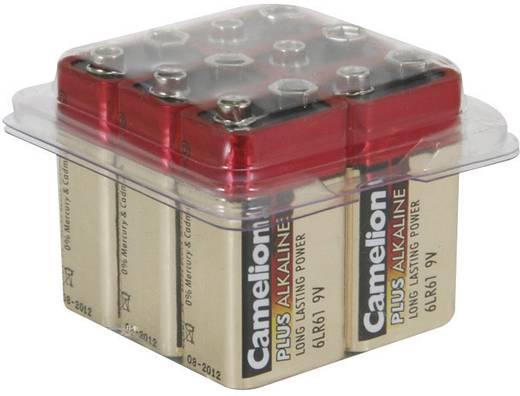 Camelion 6LR61C/6 9 V batterij (blok) Alkaline (Alkali-mangaan) 9 V 6 stuks