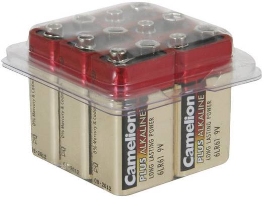 Camelion 9 V batterij (blok) Alkaline (Alkali-mangaan) 9 V 6 stuks