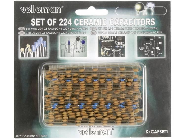 Set Keramische condensator Inhoud: 224 stuks