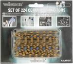 Pakket van 224 keramische condensatoren