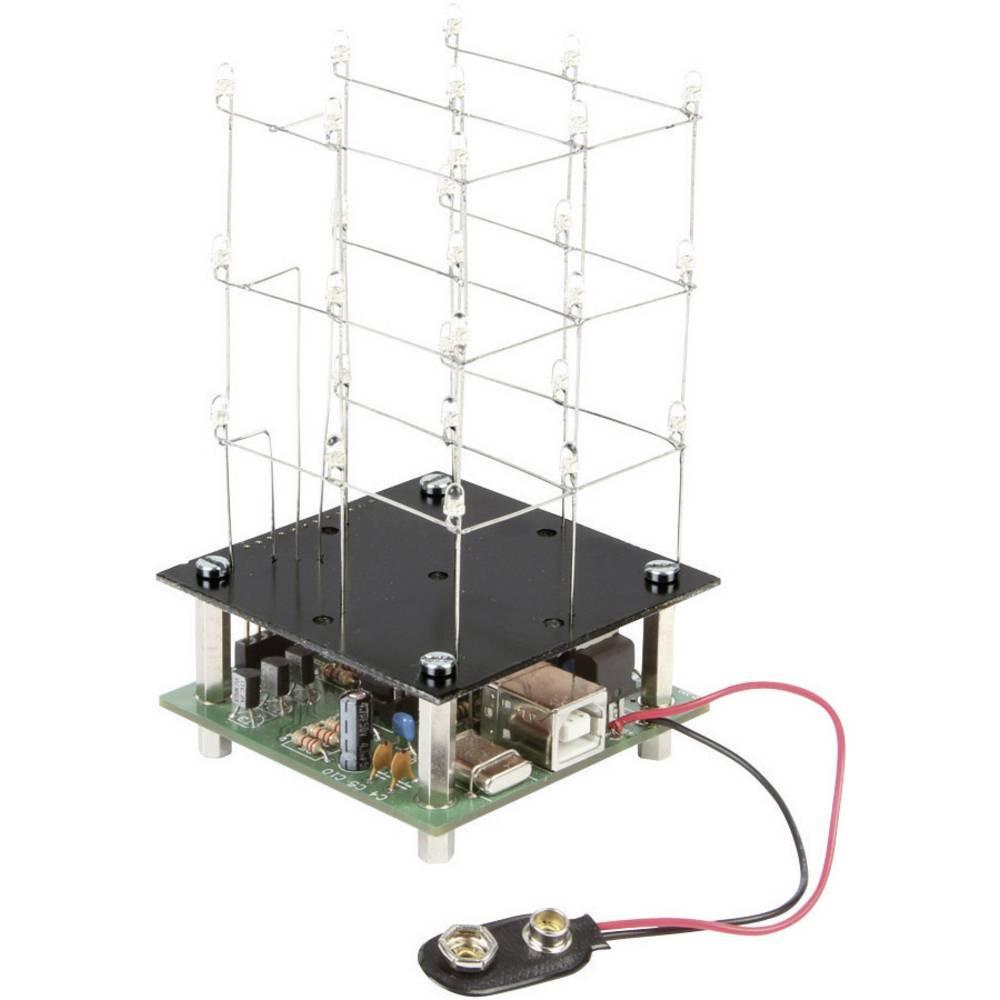 3D LED kubus Moeilijkheidsgraad: Normaal