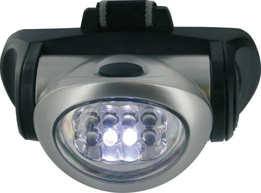 LED Hoofdlamp Zilver werkt op batterijen