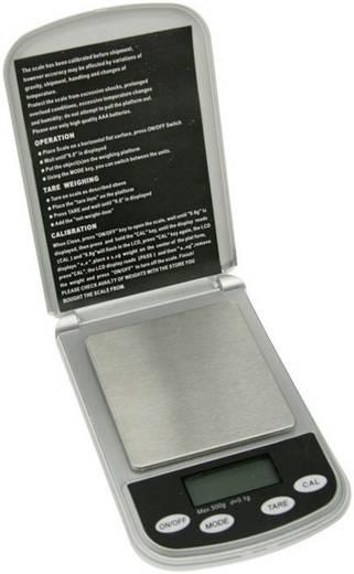 VTBAL16 Zakweegschaal Velleman Weegbereik (max.) 500 g Resolutie 0.1 g