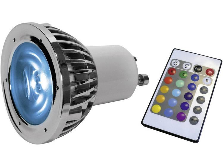 LED-lamp RGB GU10 5 W met afstandsbediening