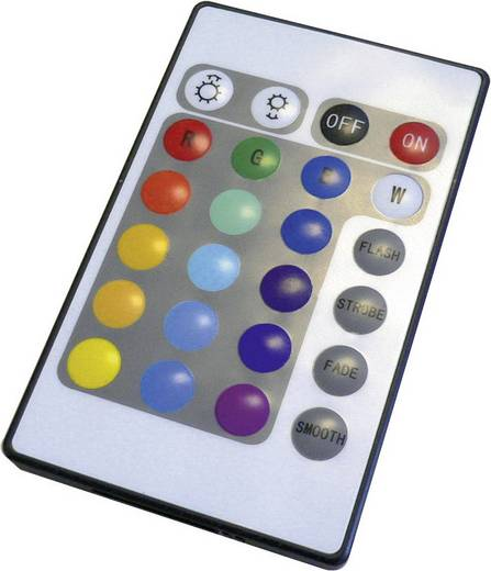 LED GU10 5 W (Ø x l) 48 mm x 60 mm Energielabel: A Lumihome Colorchanging, Incl. afstandsbediening 1 set