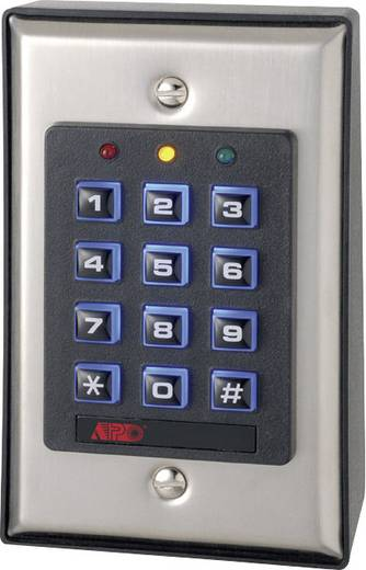 Codeslot Set Velleman HAA85BL 12 V, 24 V Met verlicht toetsenbord