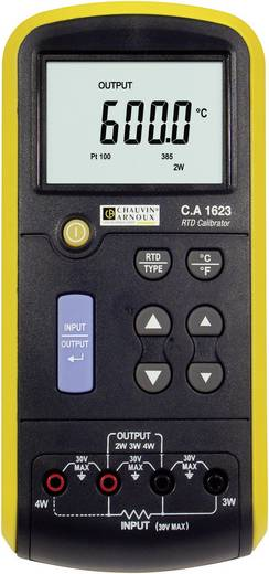 Kalibreerapparaat voor RTD-sensors Chauvin Arnoux CA1623