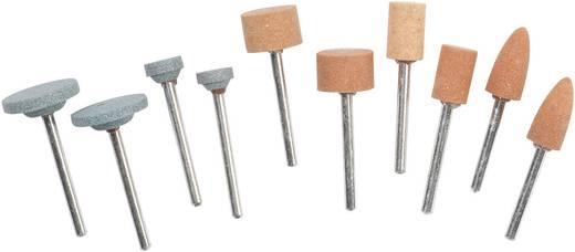 Set van accessoires voor slijpen en scherpen 10 stuks