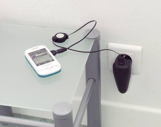 PRCT3/1 USB-oplader (Thuis, Auto, Vrachtwagenlader) 1 x Apple dock-stekker, Micro-USB, Mini-USB, Nokia 2 mm stekker,