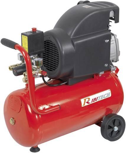 Compressor op een drukvat van 24 l, 2 pk, Ribimex PRCOMP2/24
