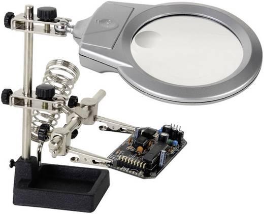 Loeplamp met derde hand Velleman VTHH3