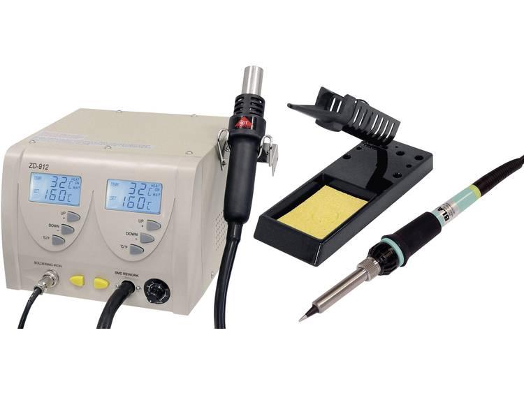 ZD912 Digitaal Soldeer--desoldeerstation 60 W, 320 W +160 tot +480 °C