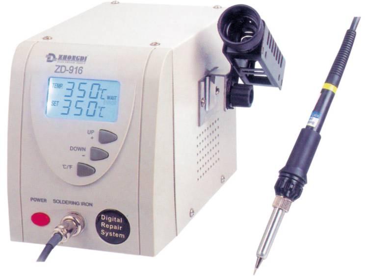 ZD916 Digitaal Soldeerstation 60 W, 130 W +160 tot +480 °C