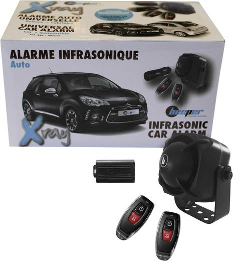 Auto-alarmsysteem XR5CAB cabrio Beeper 12 V