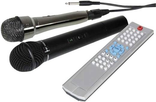 Mobiele luidspreker Ibiza Sound PORT9DVD-VHF