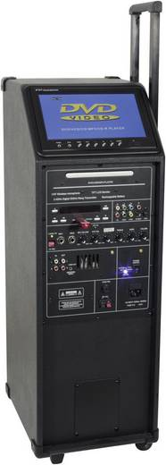 PA complete sets Ibiza Sound PORT9DVD-VHF