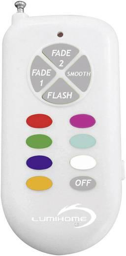LED inbouw buitenlamp Lumihome Rood, groen, blauw