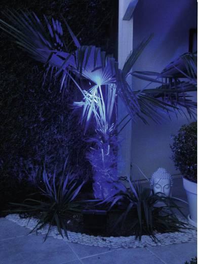 Buitenschijnwerper 2 W 3-kleurig Lumihome RGB/GL28 Zwart