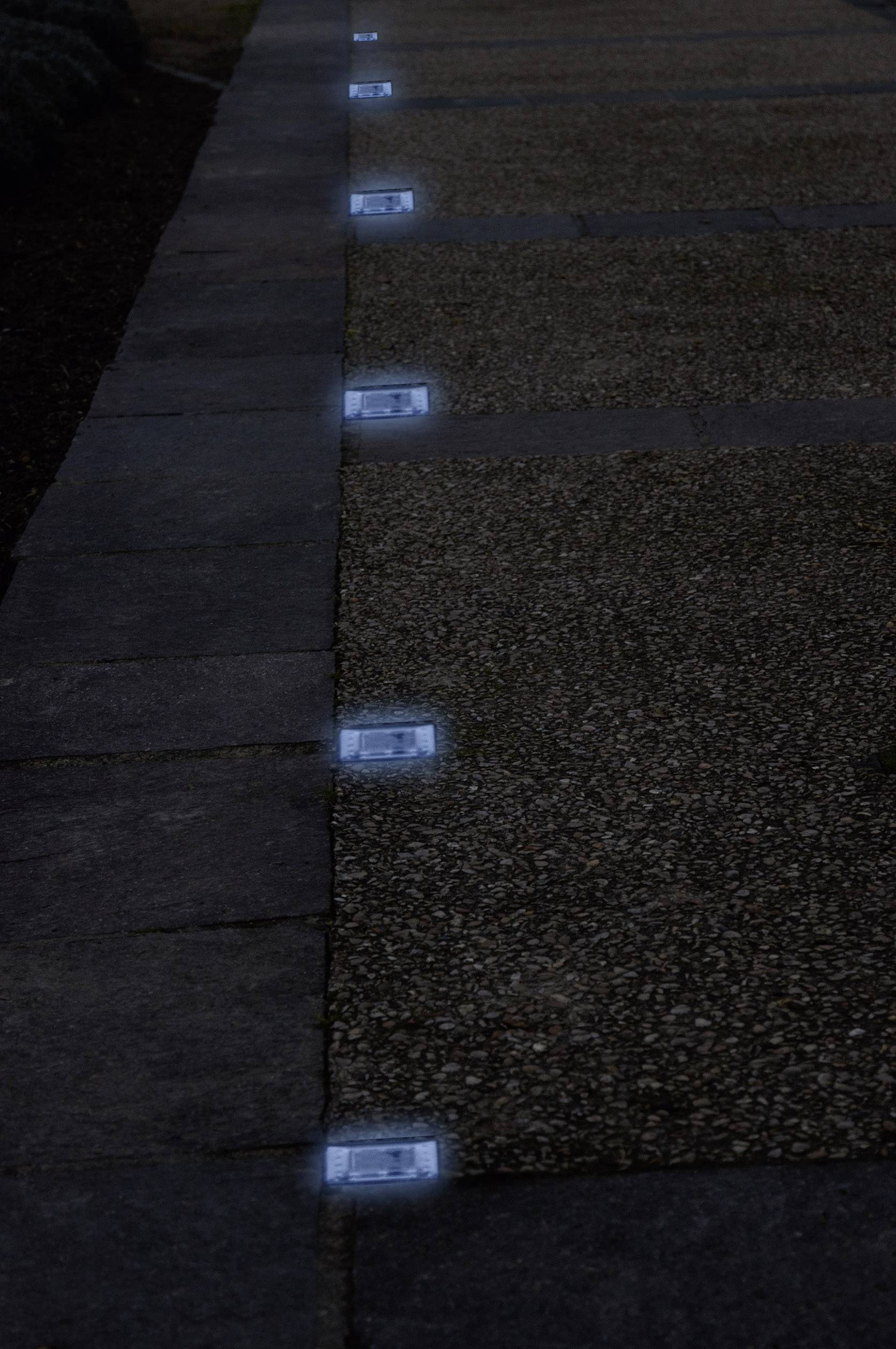 Verlichting In Terrastegel.Tegel Op Zonne Energie Dec S Blue Lumihome Conrad Nl