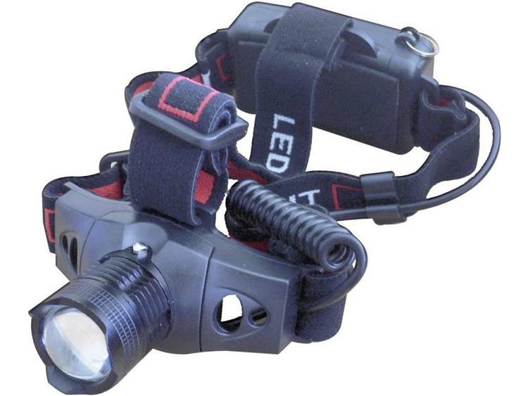 Hoofdlamp LED Lumitorch HEAD-ZOOM Werkt op batterijen 120 g