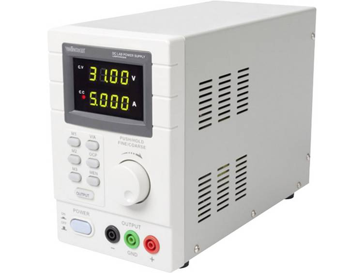 Velleman LABPS3005DN Labvoeding regelbaar 0 30 V DC 0 5 A 150 W Aantal uitg