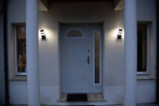 Buiten LED-wandlamp 5 W Lumihome DEC/AMN64-ET Black