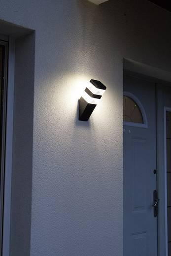 Wandlamp voor buiten, piramide neutraal witte LED Lumihome