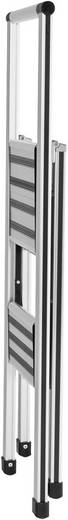 Wenko 601011500 Aluminium inklapbare keukentrap hoogte 97 cm