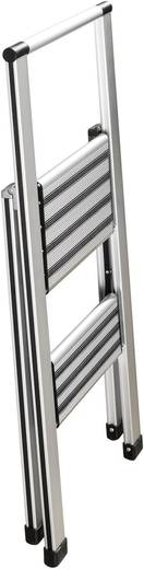 Aluminium inklapbare keukentrap Wenko 601011500 Wer
