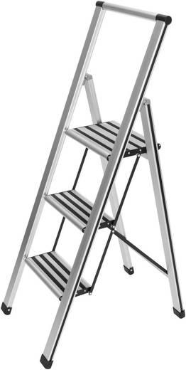 Aluminium inklapbare keukentrap 3 trede(n) Wenko