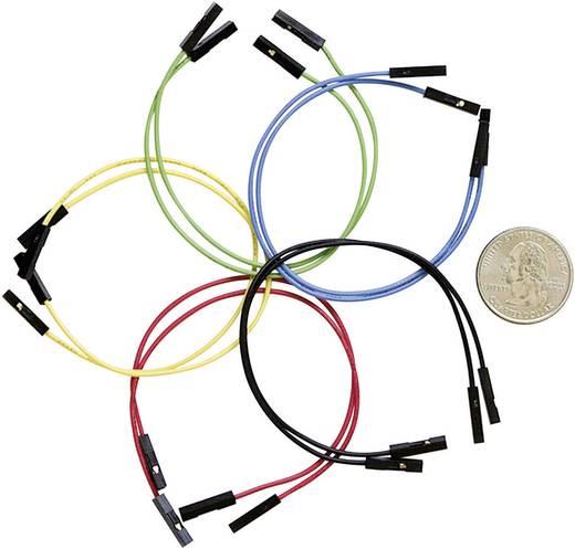 Sparkfun Set van 10 flexibele jumper wires (female-female) met een lengte van 15 cm. SPK08430
