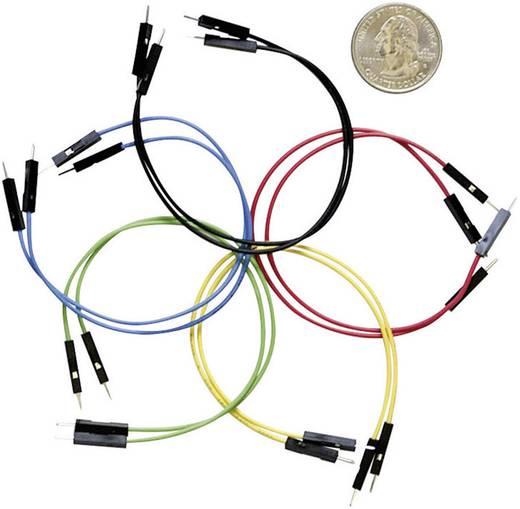 Sparkfun Set van 10 flexibele jumper wires (male-male) met een lengte van 15 cm. SPK08431