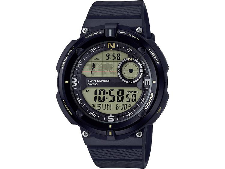 Casio Quartz Horloge SGW 600H 9AER l x b x h 50.6 x 45 x 12.8 mm Zwart Goud M